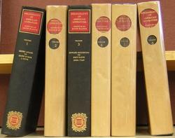 Bibliography of American Literature (First Six Volumes): Blanck, Jacob (compiler)