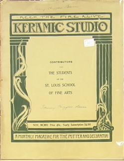 Keramic Studio: A Monthly Magazine for the Potter and Decorator: The Students of the St. Louis ...