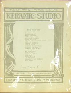 Keramic Studio: A Monthly Magazine for the Potter and Decorator: Alsop-Robineau, Mrs. Adelaide, ...
