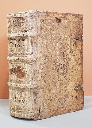 Epistolarum Familiarium. Libri XVI. Ex Christophori Longolij: Ciceronis, Marcus Tullius.