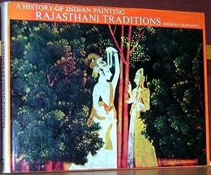 A History of Indian Painting: Rajasthani Traditions.: Chaitanya, Krishna.