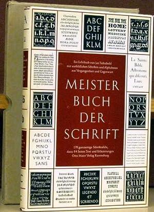 Meisterbuch der Schrift.: Tschichold, Jan.