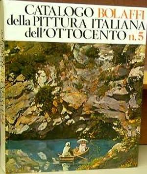 Catalogo Bolaffi della pittura italiana dell' 800 n. 5.: Allemandi, Umberto (general editor).
