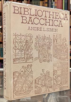 Bibliotheca Bacchica: Bibliographie raisonnee des ouvrages imprimes avant 1600 / Two Volumes ...