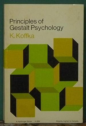 Principles of Gestalt Psychology: Koffka, K.