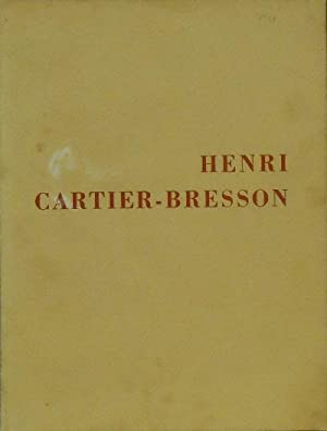 The Photographs of Henri Cartier-Bresson: Kirstein, Lincoln and Beatmont Hall (texts)