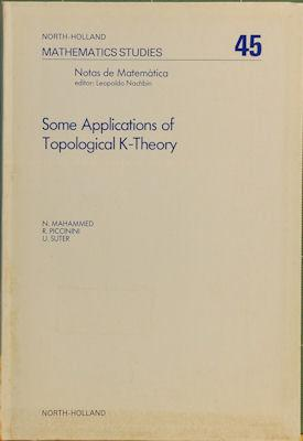 Some Applications of Topological K-Theory: Mahammed, N.