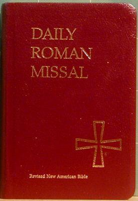 Daily Roman Missal, Burgandy Bonded Leather: Socias, James