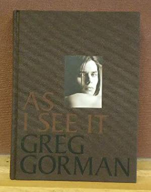 As I See It: Gorman, Greg