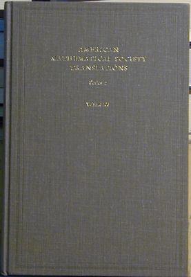 American Mathematical Society Translations, Series 2, Volume 53: Arnol'd, V.i.; Birman, M.s.; ...