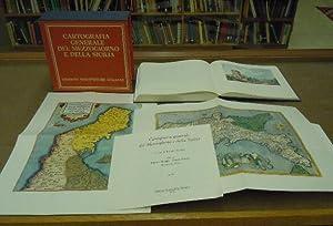 Cartografia generale del Mezzogiorno e della Sicilia: Ernest Mazzetti
