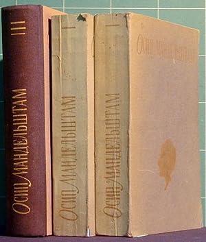 Sobranie Sochinenij, 3 Vols: Mandelshtam, Osip