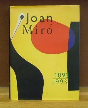 Joan Miro 1893-1993: Fundacion Joan Miro