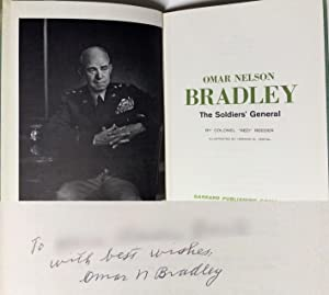 Omar Nelson Bradley The Soldier s General 1969 Autografato Signed