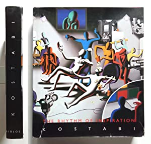Mark Kostabi The Rhythm of inspiration - Biblos 2005 Autografato Signed