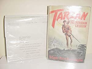 TARZAN AND THE FOREIGN LEGION (with T.L.S.)