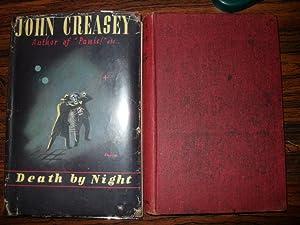 DEATH BY NIGHT: Creasey, John