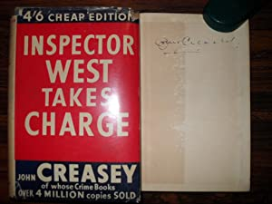 INSPECTOR WEST TAKES CHARGE: Creasey, John