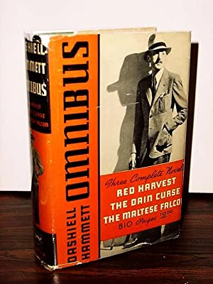 DASHIELL HAMMETT OMNIBUS Three Complete Novels: Red: HAMMETT, DASHIELL