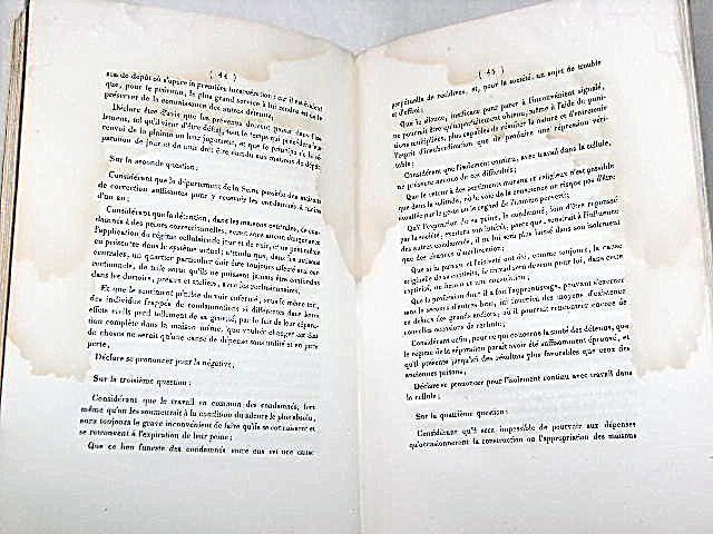 Lettre Sur Le Syst U00e8me P U00e9nitentiaire   U00e0 Messieurs Les