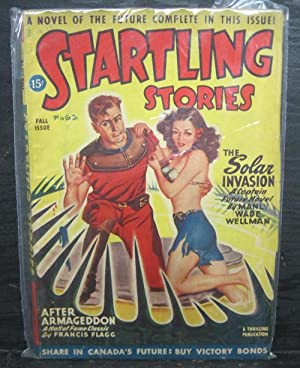The Solar Invasion, After Armageddon, Fall 1946, Startling Stories, Pulp Magazine