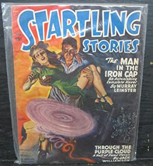 The Man In The Iron Cap, Through The Purple Cloud, November 1947, Startling Stories, Pulp Magazine