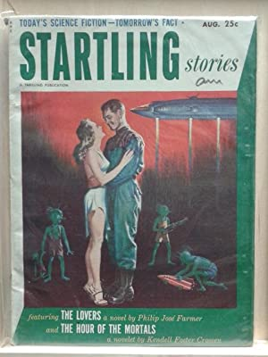 The Lovers, The Hour of The Mortals, August 1952, Startling Stories, Pulp Magazine