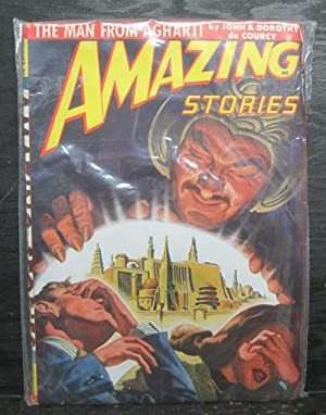 The Man From Agharti, July 1948, Amazing Stories, Vol. 22, Number 7, Pulp Magazine