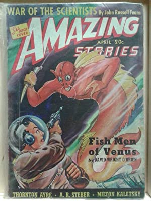 War of the Scientists, Fish Men of: Fearn, John Russell;
