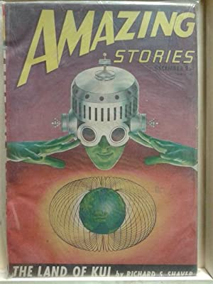 The Land of Kui, December 1946, Amazing Stories, Vol. 20, Number 9, Pulp Magazine