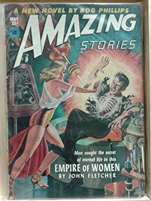 Empire of Women, May 1952, Amazing Stories, Vol. 26, Number 5, Pulp Magazine
