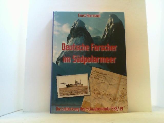 Deutsche Forscher im Südpolarmeer. - Herrmann, Ernst,