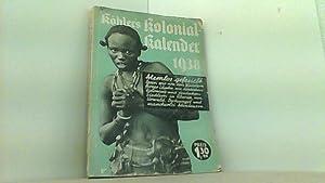 1938. Ohne Kolonien - Volk in Not: Köhler s illustrierter