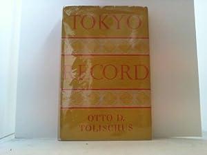 Tokyo Record.: Tolischus, Otto D.,