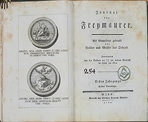 Journal für Freymaurer. Als Manuskript gedruckt für