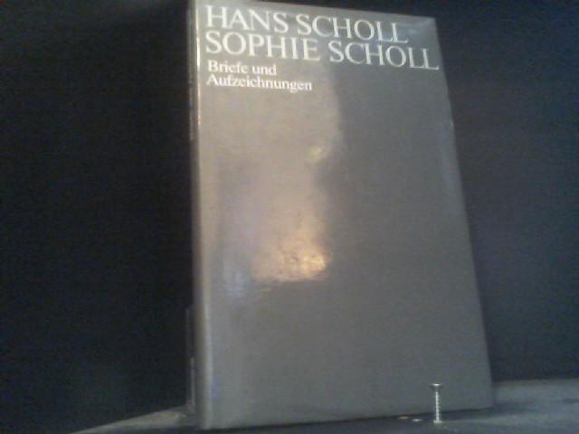 Briefe Von Sophie Scholl : Hans scholl briefe und aufzeichnungen zvab