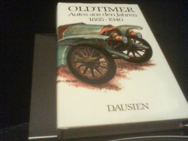 Oldtimer. Autos aus den Jahren 1885 - 1940