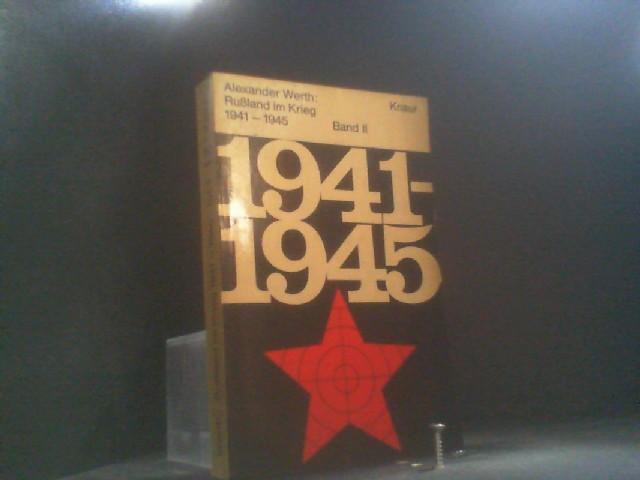 russland im krieg 1941 von alexander werth zvab. Black Bedroom Furniture Sets. Home Design Ideas