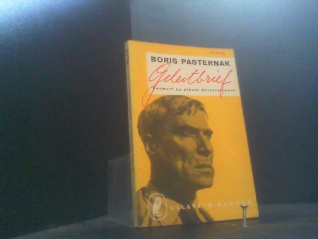 Geleitbrief: Pasternak, Boris: