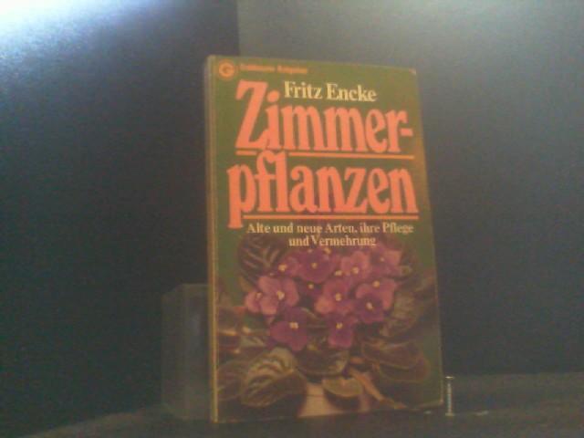 Zimmerpflanzen Alte Und Von Encke Zvab