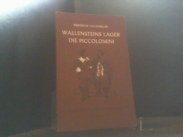 Hamburger Lesehefte, Nr.37, Wallensteins Lager: Schiller, Friedrich von.: