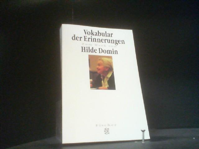 Heimkehr ins Wort: Materialien zu Hilde Domin (Fischer Taschenbücher) - Wangenheim, Bettina