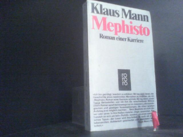 Mephisto: Roman einer Karriere.: Mann, Klaus: