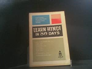 Learn Hindi in 30 Days