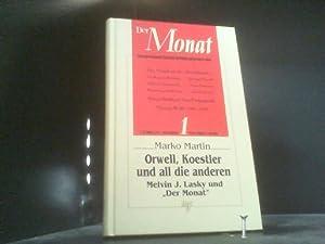 Orwell, Koestler und all die anderen: Martin, Marko: