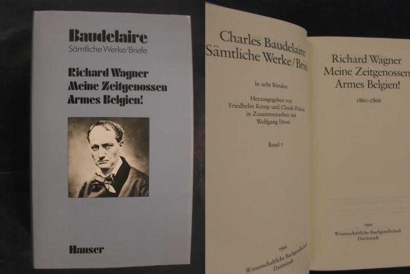 Briefe Von Wagner : Sämtliche werke briefe von baudelaire zvab