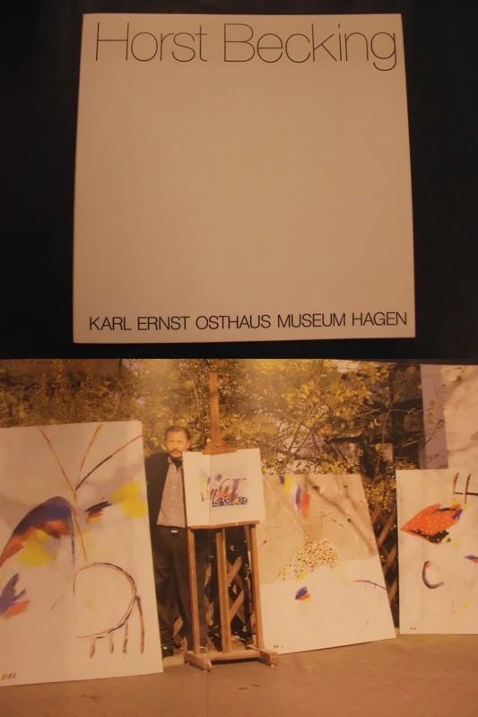 Horst Becking - Neue Bilder - Malerbücher: Karl Ernst Osthaus
