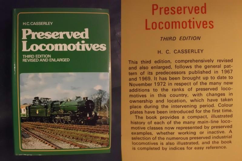 Preserved Locomotives - Third Edition - Casserley, H.C.