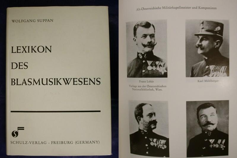 Lexikon des Blasmusikwesens: Suppan, Wolfgang (Hrsg.)
