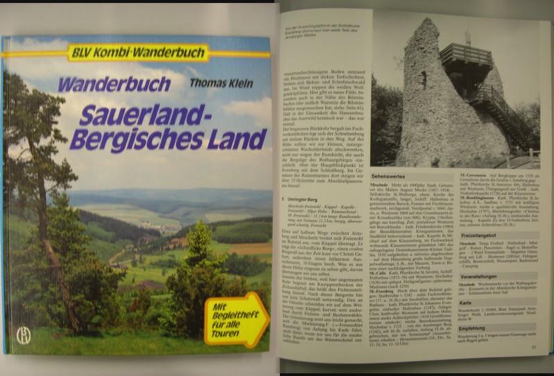 Wanderbuch Sauerland-Bergisches Land: Klein, Thomas